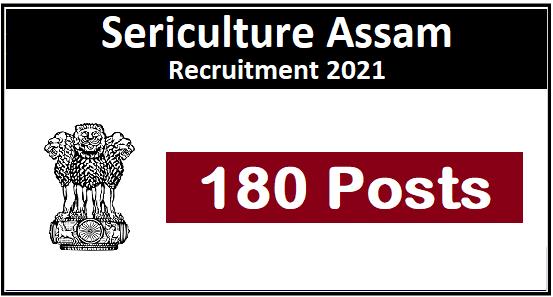 Sericulture Assam Recruitment 1