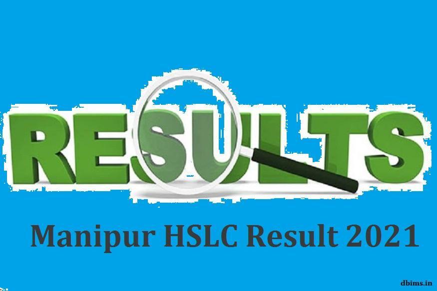 Manipur HSLC Result 2021