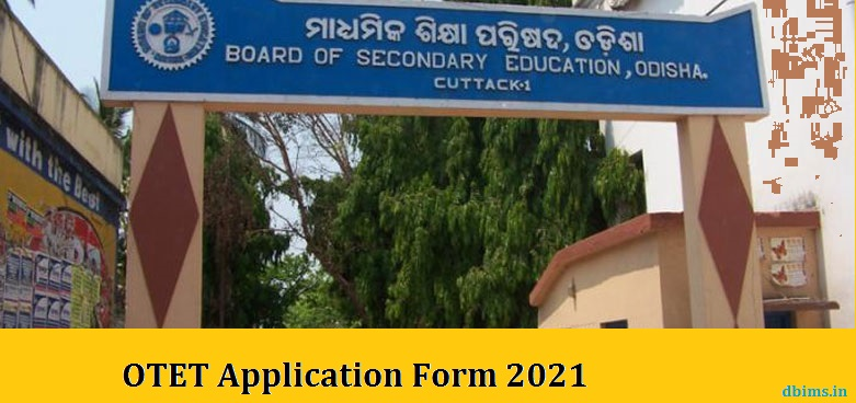 OTET Application Form 2021