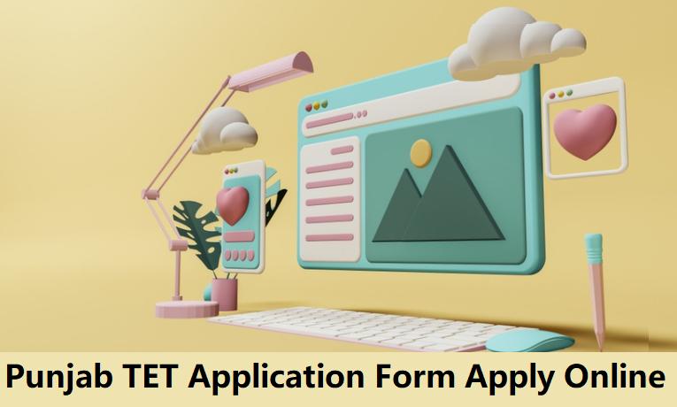 PSTET Application Form