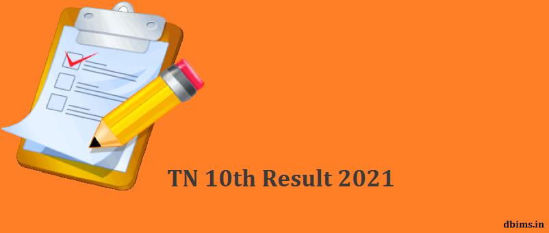 TN 10th Result 2021