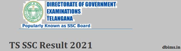 TS SSC Result 2021