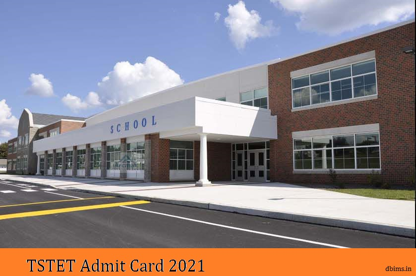 TSTET Admit Card 2021
