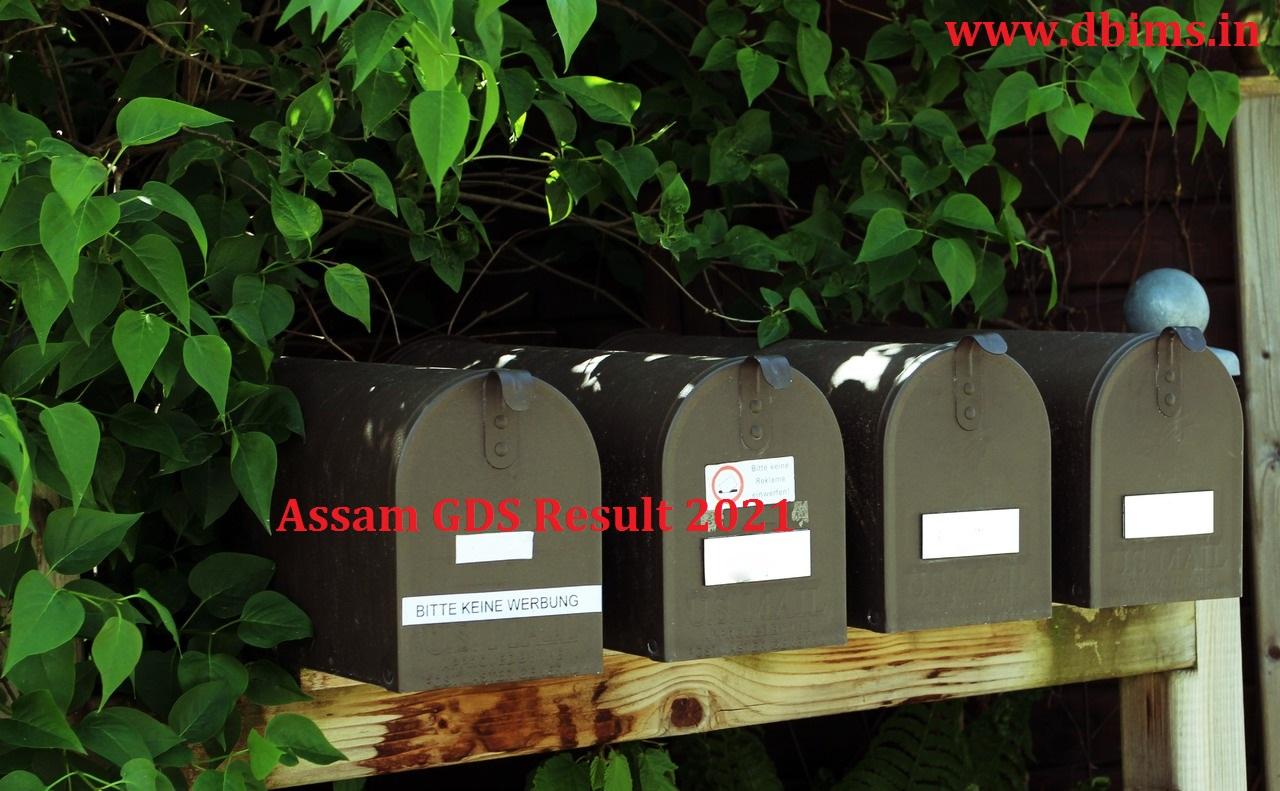 Assam GDS Result 2021