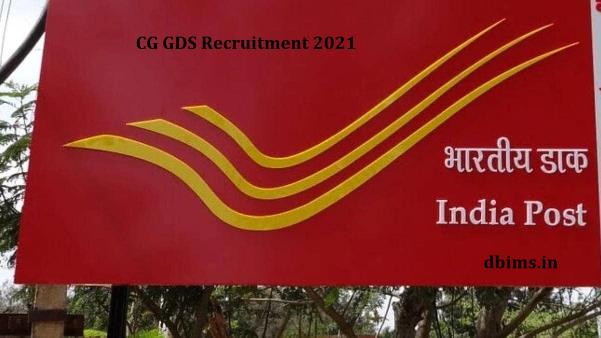 CG Gds recruitment 2021