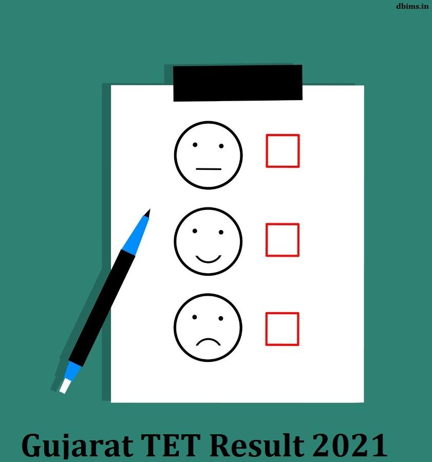 Gujarat TET Result 2021