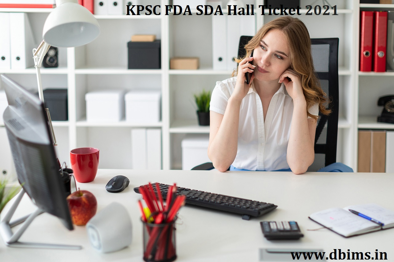 KPSC FDA SDA Hall Ticket 2021