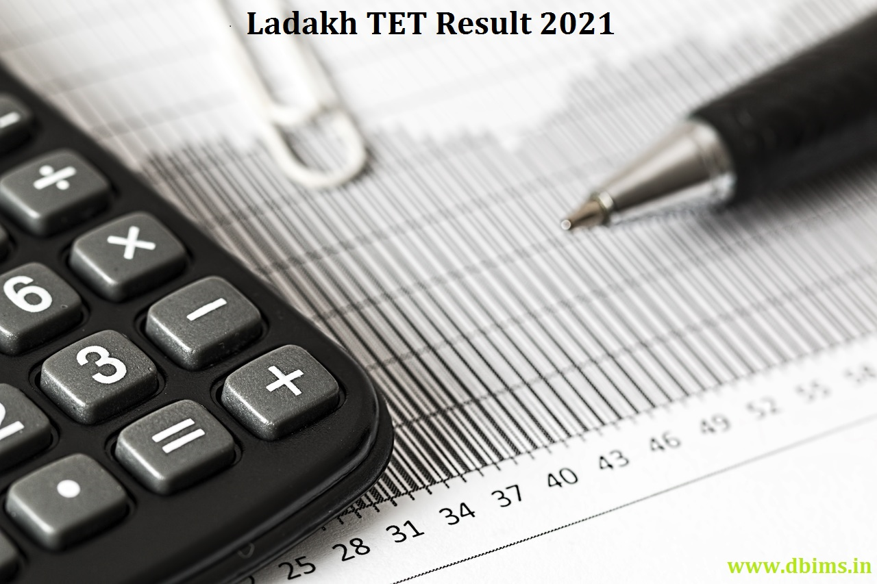 Ladakh TET Result 2021