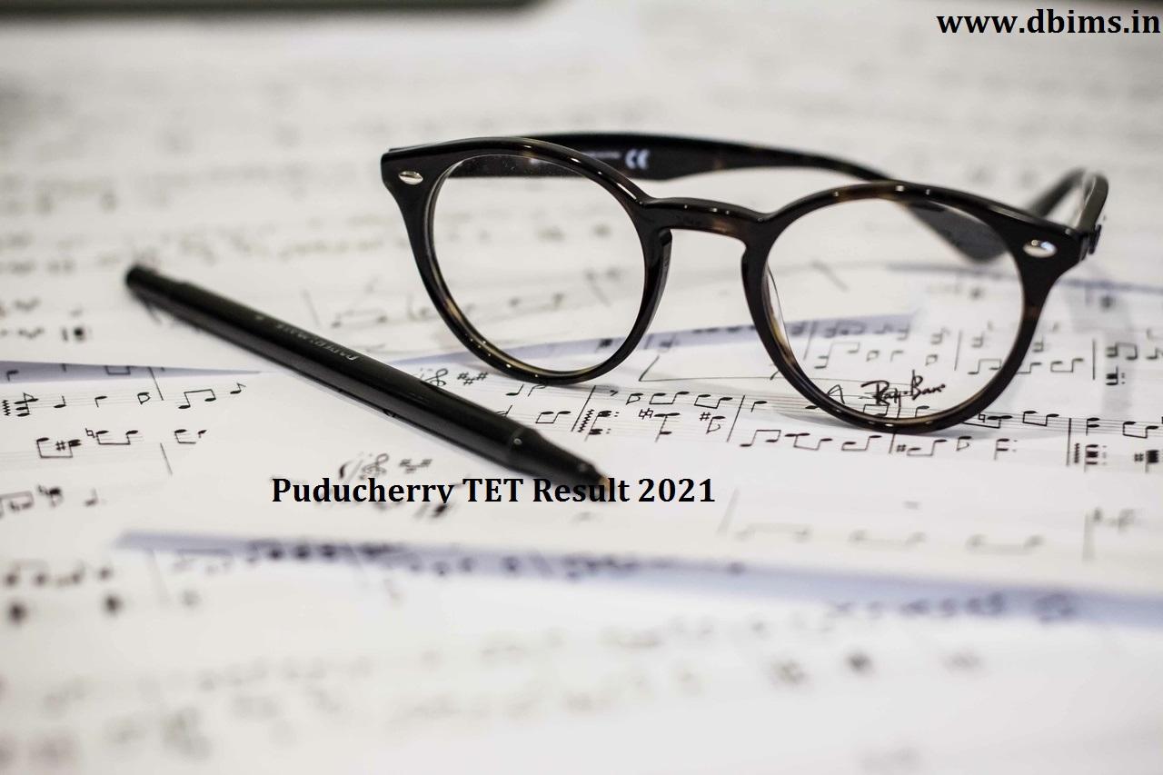 Puducherry TET Result 2021