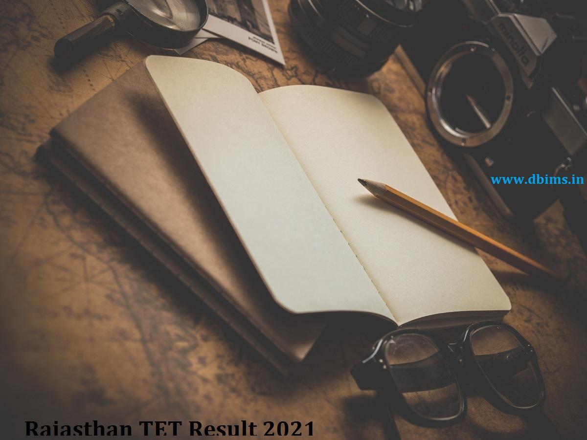 Rajasthan TET Result 2021