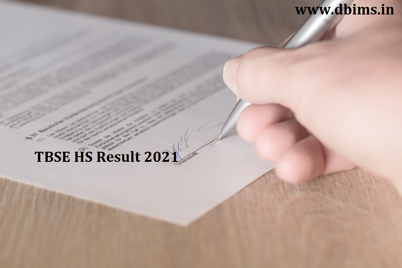 TBSE HS Result 2021
