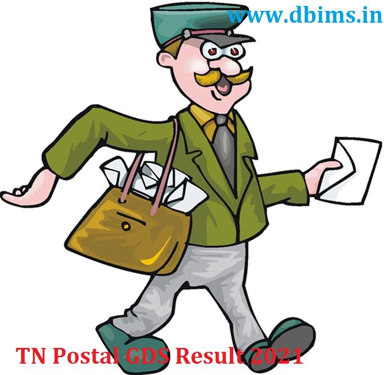 TN Postal GDS Result 2021