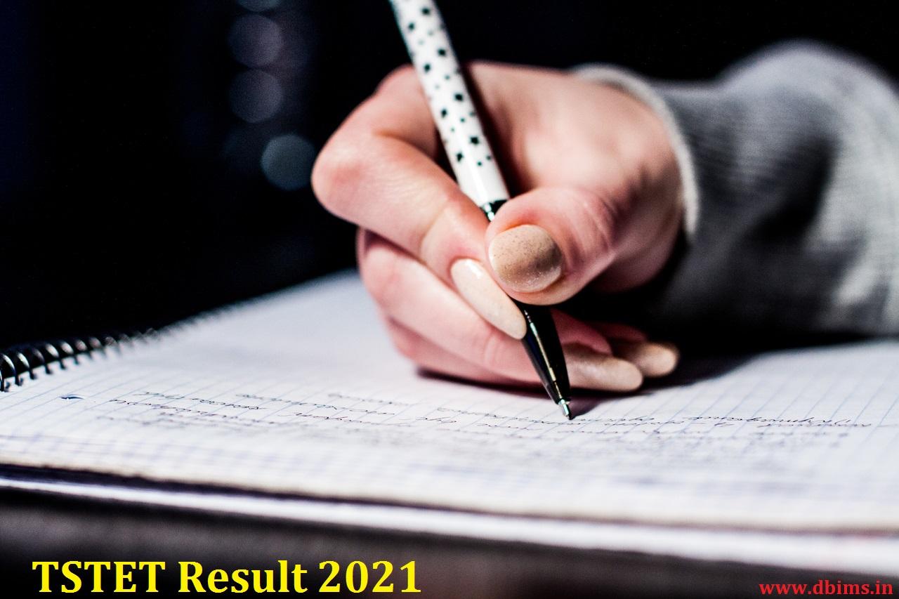 TSTET Result 2021
