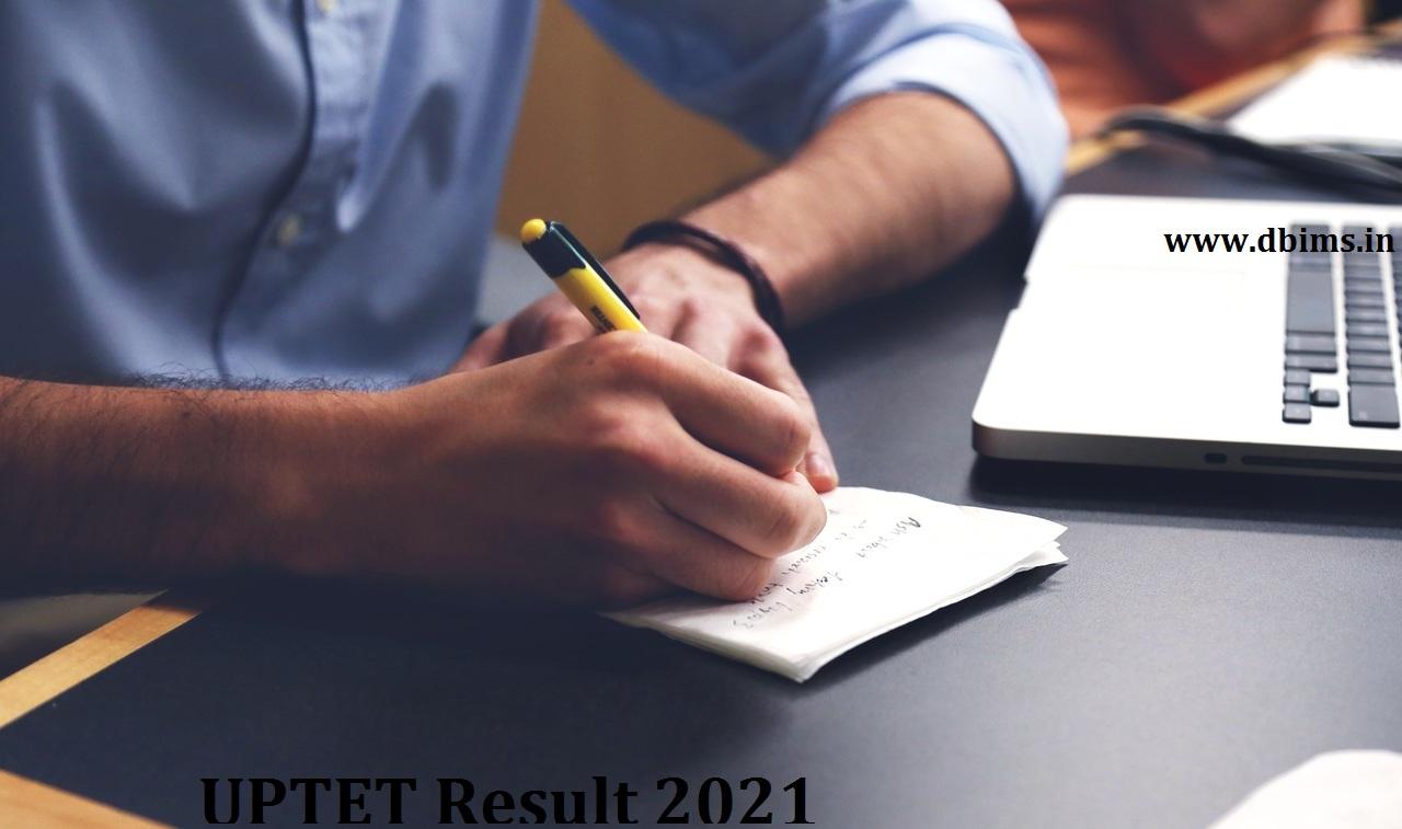 UPTET Result 2021