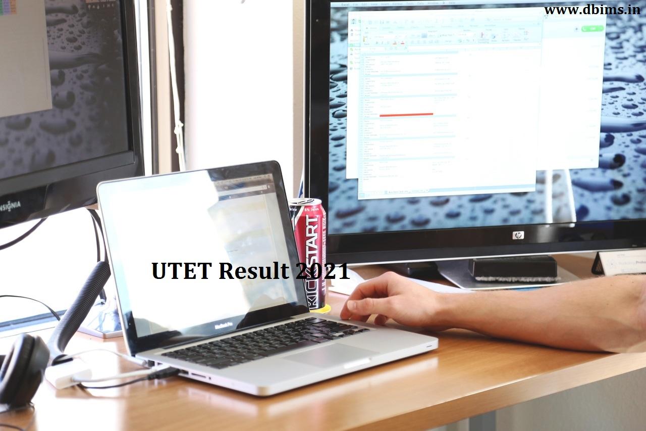 UTET Result 2021