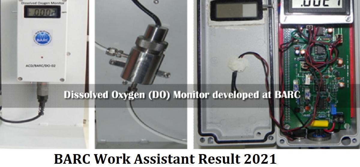 BARC Work Assistant Result 2021