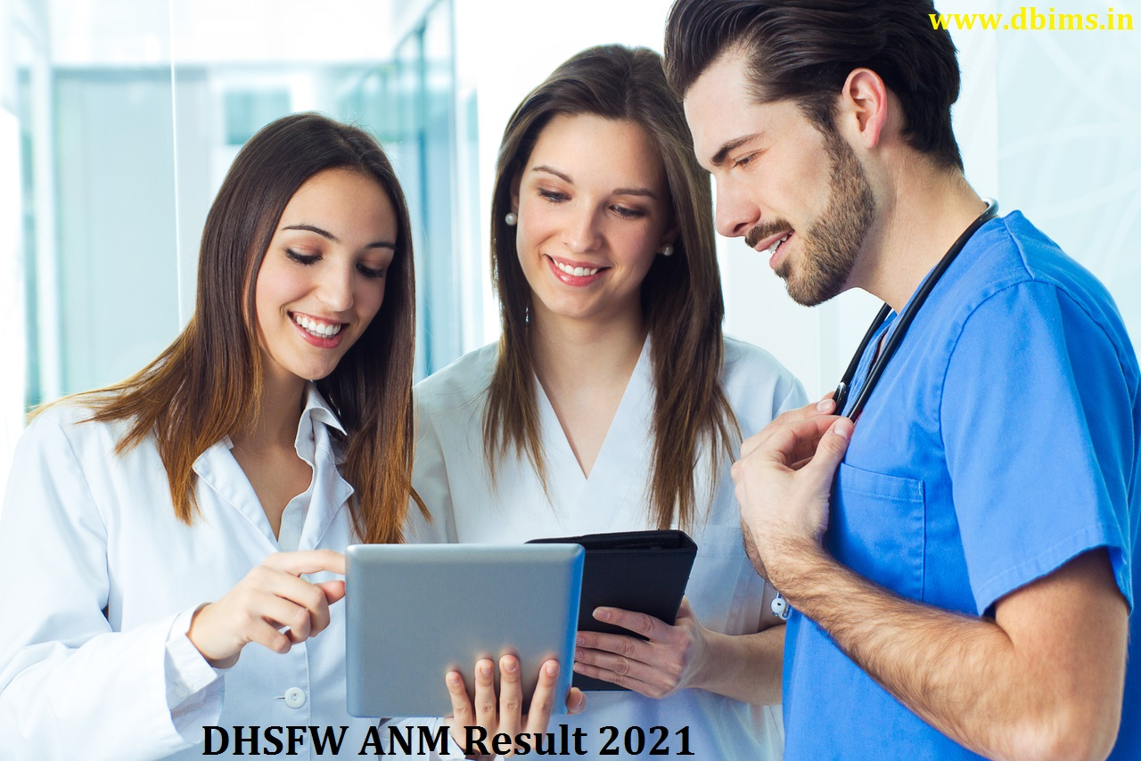 DHSFW ANM Result 2021