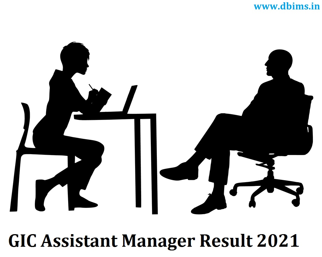 GIC Assistant Manager Result 2021