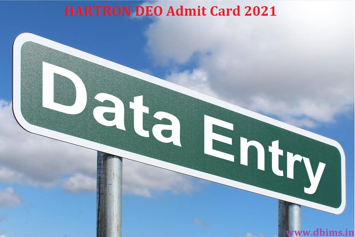 HARTRON DEO Admit Card 2021