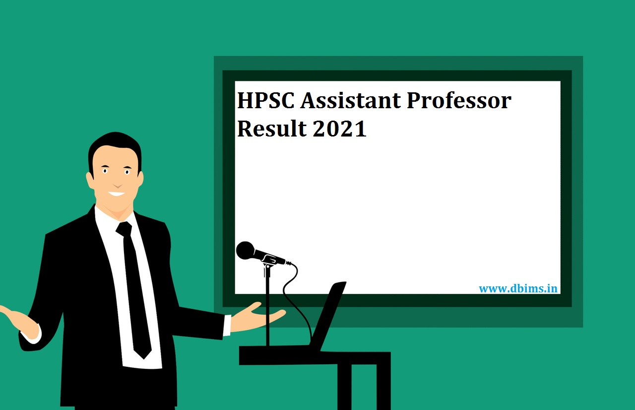 HPSC Assistant Professor Result 2021