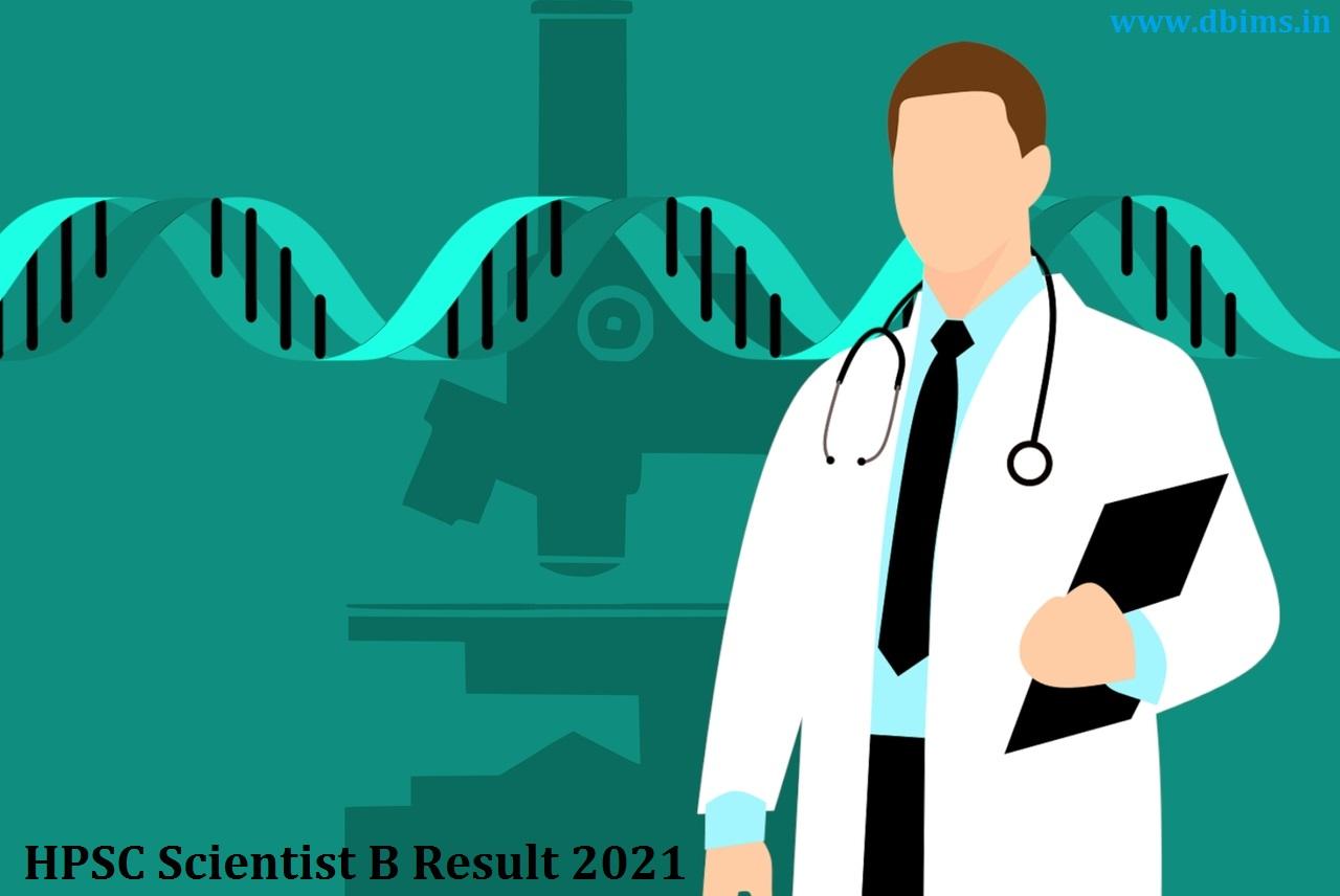 HPSC Scientist B Result 2021