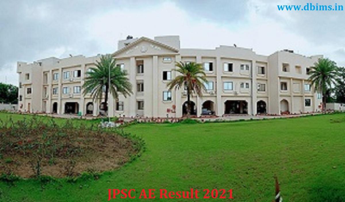 JPSC AE Result 2021