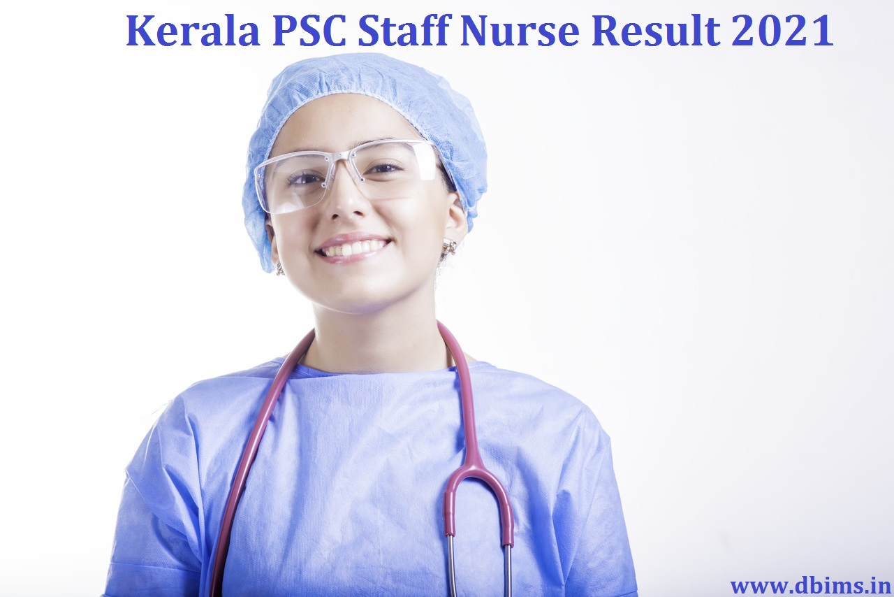 Kerala PSC Staff Nurse Result 2021
