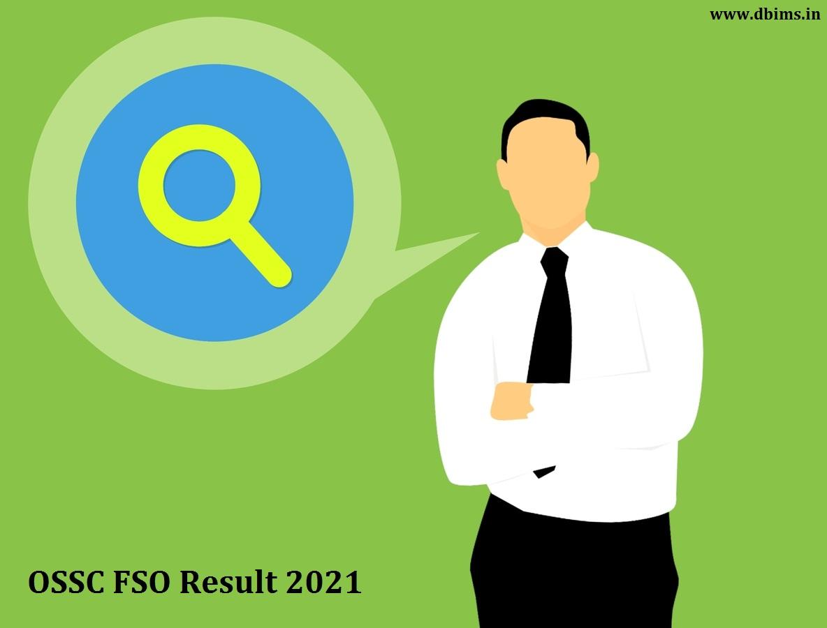 OSSC FSO Result 2021