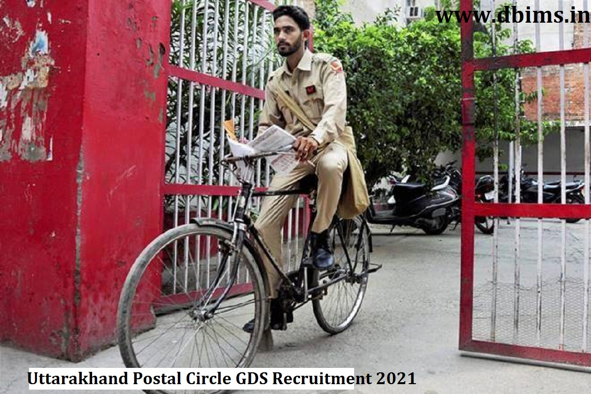 Uttarakhand Postal Circle GDS Recruitment 2021