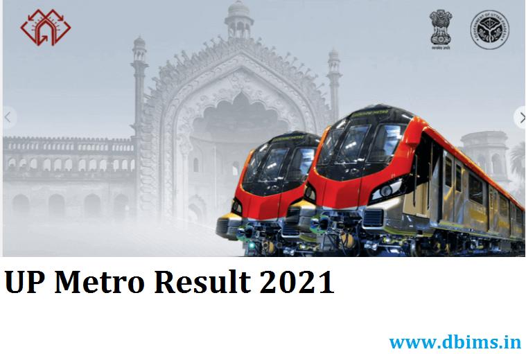 UP Metro Result 2021
