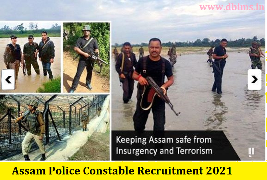 Assam Police Constable Recruitment 2021
