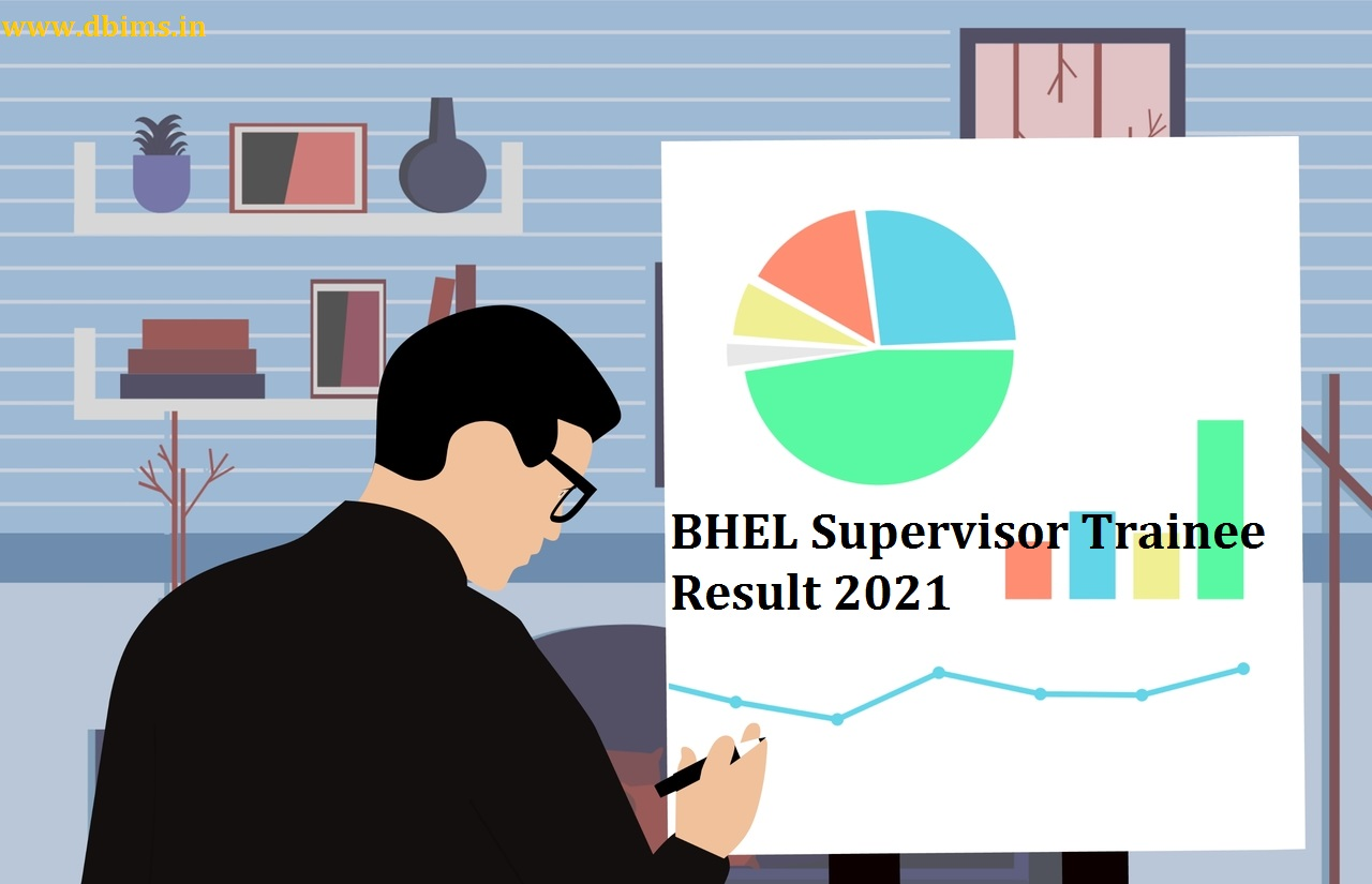 BHEL Supervisor Trainee Result 2021