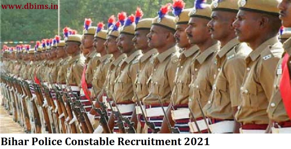 Bihar Police Constable Recruitment 2021