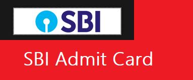 SBI Clerk Junior Associate Admit Card