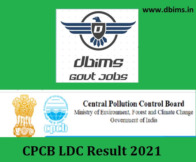 CPCB LDC Result 2021