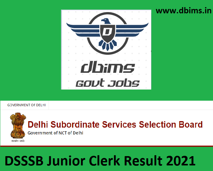 DSSSB Fee Collector Result 2021
