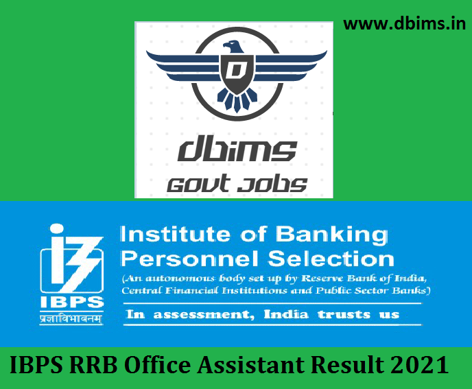 IBPS RRB Office Assistant Result 2021