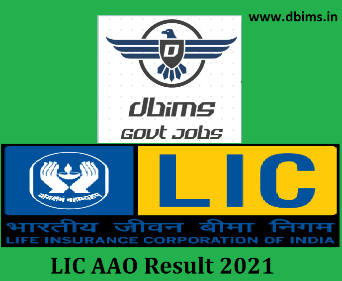 LIC AAO Result 2021