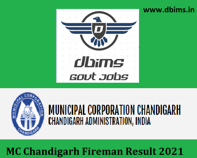 MC Chandigarh Fireman Result 2021
