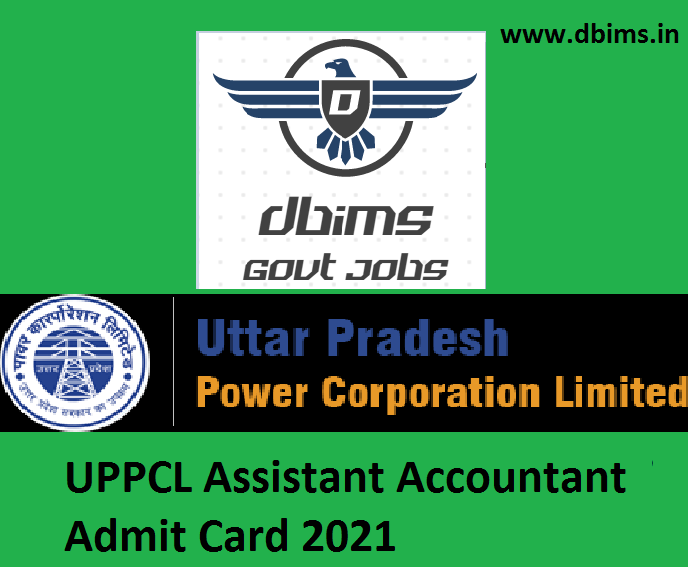 UPPCL Assistant Accountant Admit Card 2021