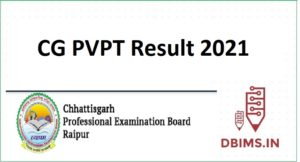 CG PVPT Result 2021