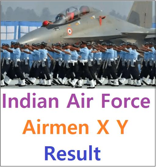 Indian Air Force Airmen X Y Result