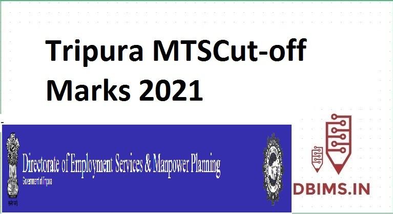 Tripura MTSCut-off Marks 2021