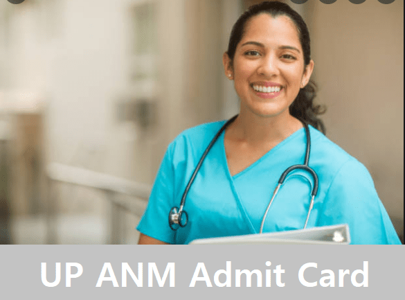 UP ANM Admit Card