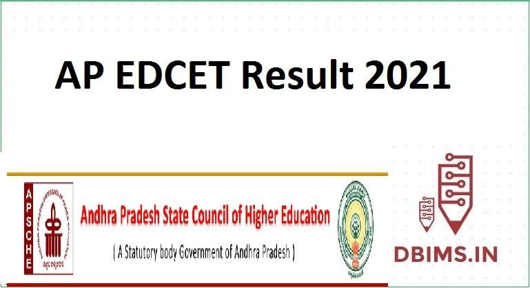 AP EDCET Result 2021