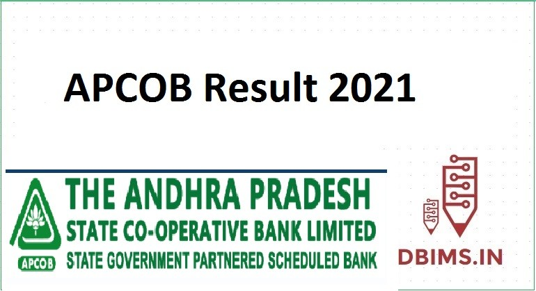 APCOB Result 2021