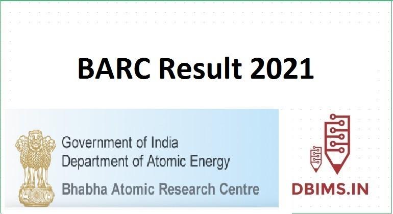 BARC Result 2021