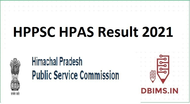 HPPSC HPAS Result 2021