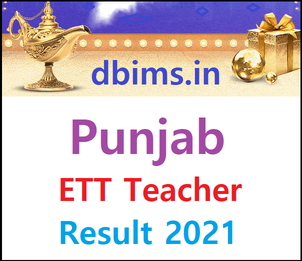 Punjab ETT Teacher Result